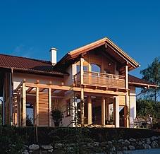 Casa In Legno Massiccio