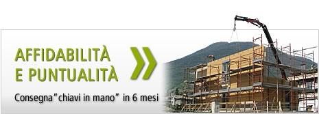 costruzione case in legno in 6 mesi