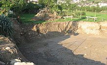 Picchettamento e scavo di sbancamento