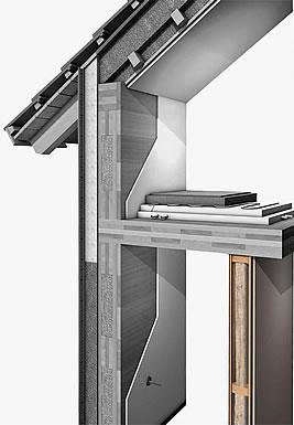 Pareti interne case prefabbricate in legno dettagli - Parete interna in legno ...