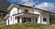Costruzione casa in legno a Albosaggia (Sondrio)