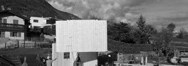 Costruzione casa in legno a Bianzone (Sondrio)