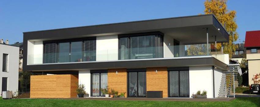 Foto case in legno alpine classiche e moderne realizzate for Casa moderna in legno