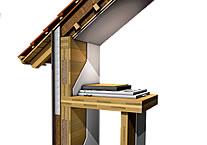 Solidità delle case in legno