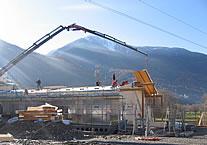 Tre fasi di costruzione