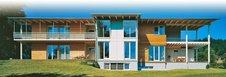 Casa in legno Alpina