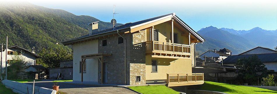 Casa in legno classica